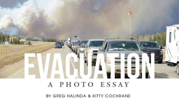Evacuation: A Photo Essay