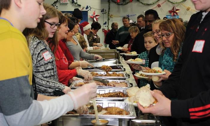 Knights of Columbus Christmas Dinner: Where Everyone is Welcome