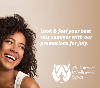 Achieve Wellness Spa July 2019