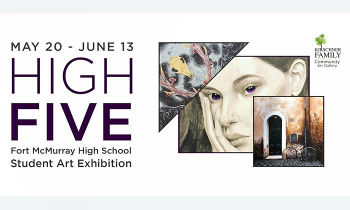 HIGH FIVE Art Exhibition opening at the Kirschner Family Community Art Gallery