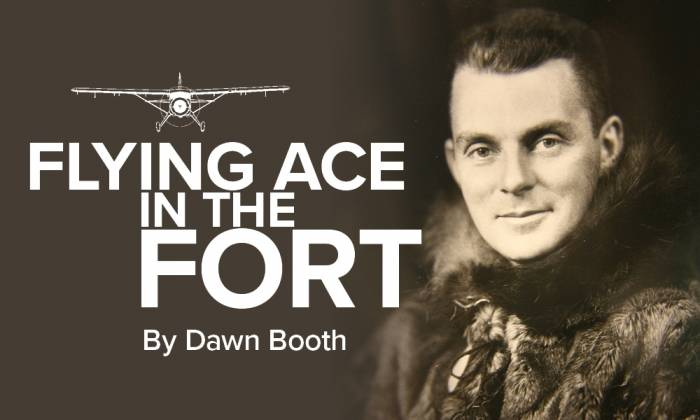 Flying Ace in The Fort