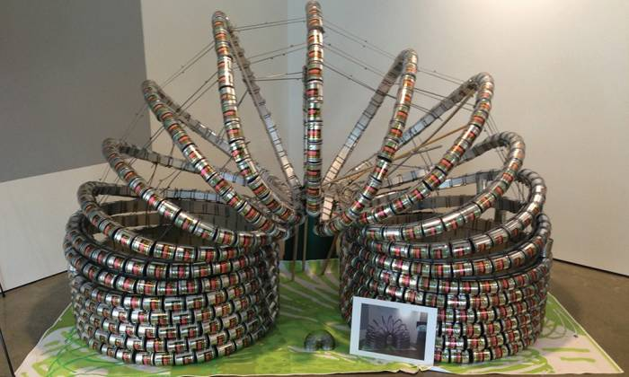 Canstruction - Kick Hunger
