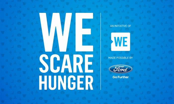 The 2017 We Scare Hunger Campaign