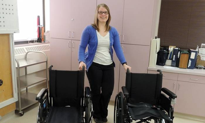 Health Foundation-funded wheelchairs enhance occupational therapy services in Wood Buffalo