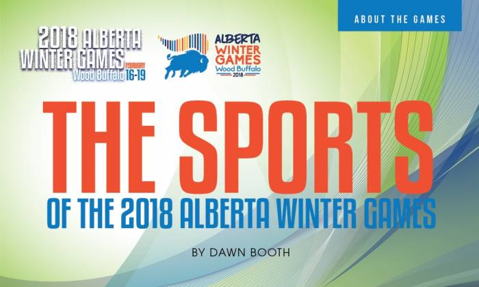 The Sports of the 2018 Alberta Winter Games
