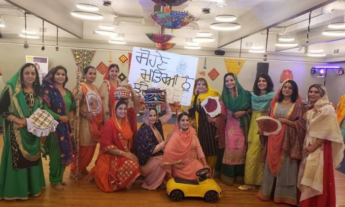 Sikh Festival brings Indian Women Together