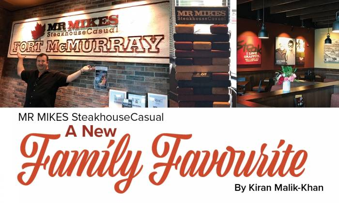 A New Family favourite: MR MIKES SteakhousCasual